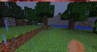 как сделать в майнкрафте как убрать дождь